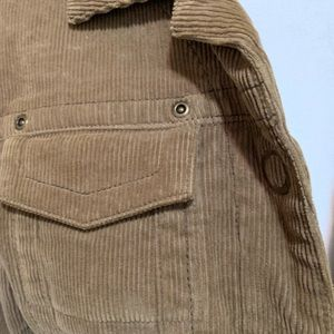 CAbi Jackets & Coats - CAbi Brown Corduroy Jean jacket. Sz S